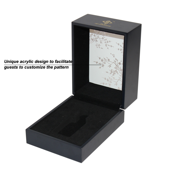 Top Acrylic Small Perfume Packaging Box