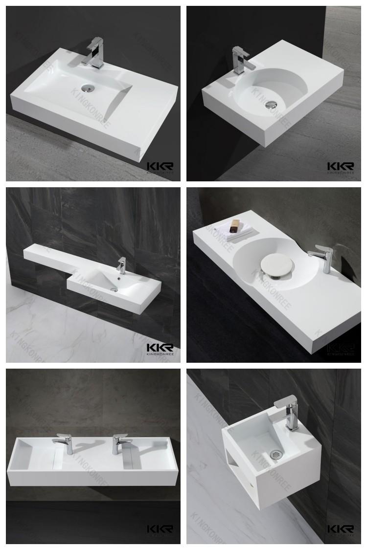 long narrow bathroom sink / rectangle shape wash sink - buy long