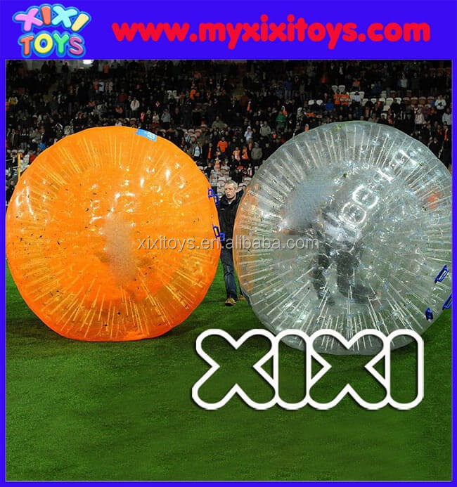 Rolling race zorb ball game, inflatable hamster zorb rolling ball