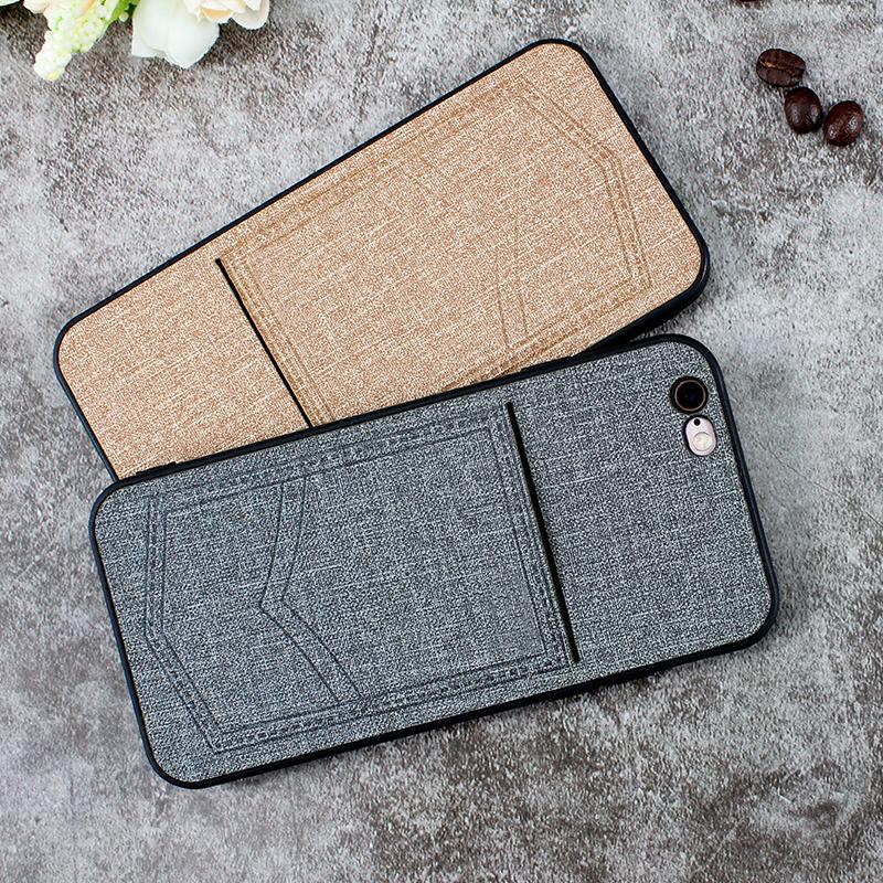 2018 Baru Kedatangan Tiga Dalam Satu Ponsel Case untuk iPhone 6 S Leather Phone Case Ponsel Pintar kasus