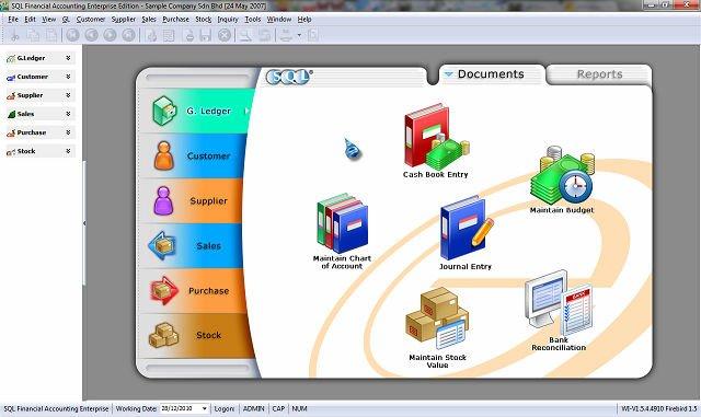Sql Financial Software