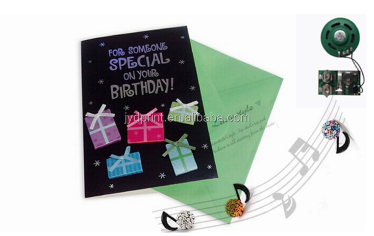 Lovely And Personalised Musical Greeting Card