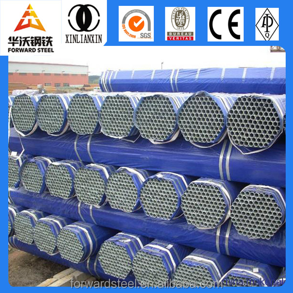 Forward Steel pipe surface pre galvanized vs hot dipped