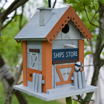 Fsc New Design Wooden Bird House Wood Craft For Hanging Buy