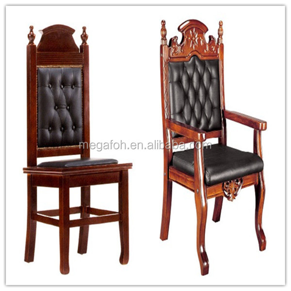 High Quality Wooden Court Chair Furniture For Law Office