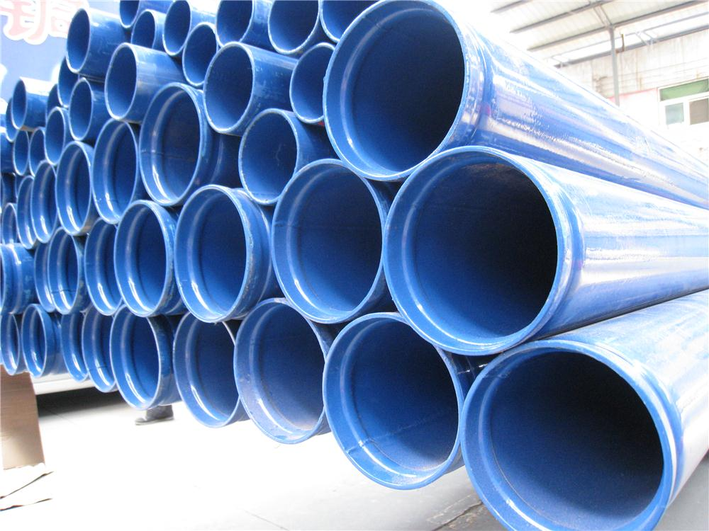 Urban building water supply epoxy coated round steel pipe