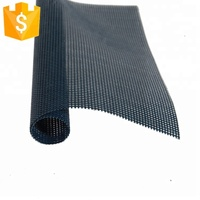 Fire retardant outdoor furniture plastic polyester PVC coated polyester mesh woven vinyl pvc fabric for beach chair