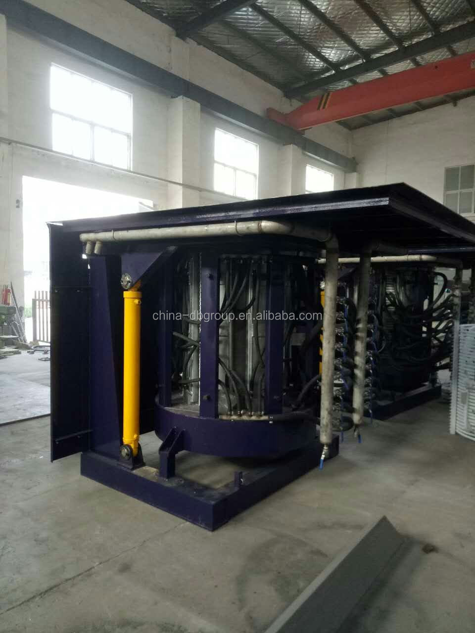 intermediate frequency induction aluminium electric melting furnace