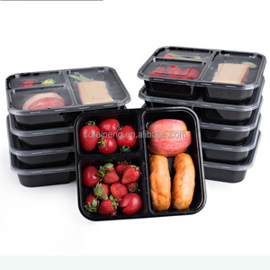 china factory microwave frozen accept 10 pack plastic lunch box for food packing
