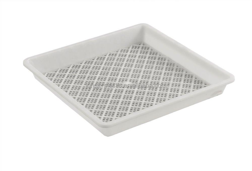 Platte plastic bak