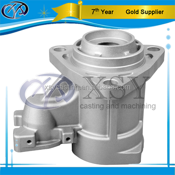 Water Glass Lost Wax Stainless Steel Casting Suction Pump Parts