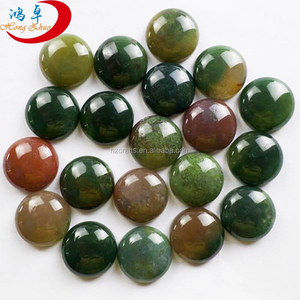 Hot sale natural gemstone lndian agate cabochon for rings