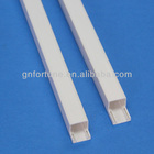 Pvc cable duct/ pvc channel/pvc trunking 10x10