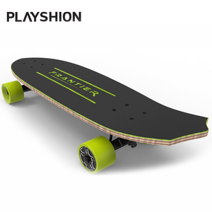 "Powerful 28"" Dual Hub Motors Cruiser Electric Skateboard with Wireless Remote"