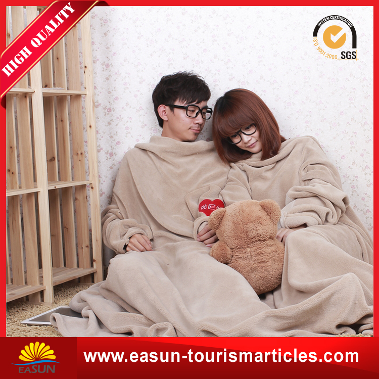100 polyester heavy knitted fleece throw blanket