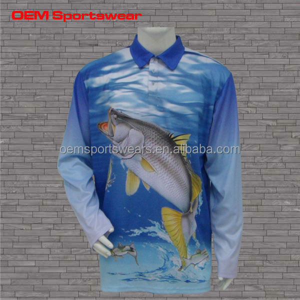 Sublimated tournament spf fishing shirts buy fishing for Tournament fishing shirts wholesale