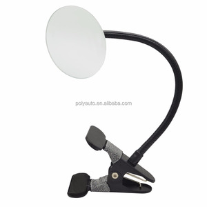 Clip On Security Mirror, Convex Mirror for Personal Safety Security Cabinet Cubicle Desk Rear View Monitors or Anywhere