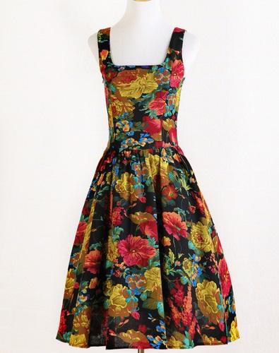 Schnittmuster kostenlos kleid 50er