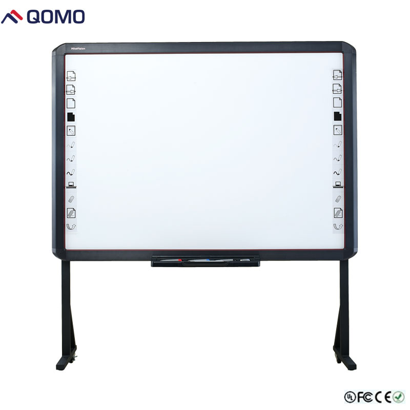 Infrared interactive classroom writing white board for school and office, online smart whiteboards