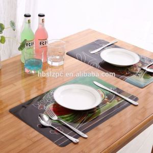 placemat 2016 New design watermelon laser good promotion under table mat for dining restaurant hotel