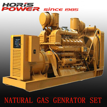 Global serviced 10-1875KVA natural gas generator with CE ISO 9001