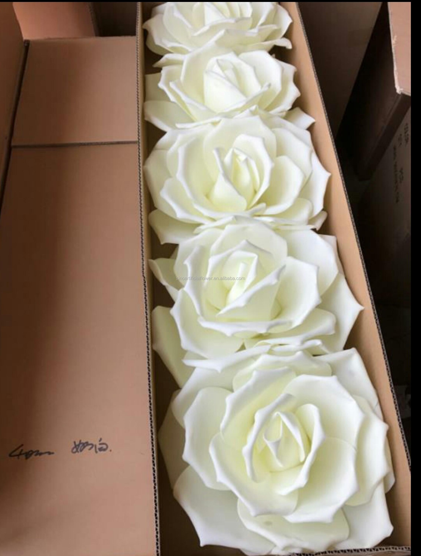 Hot Sale Artificial Giant Foam Flower For Wedding Flower Wall Flower