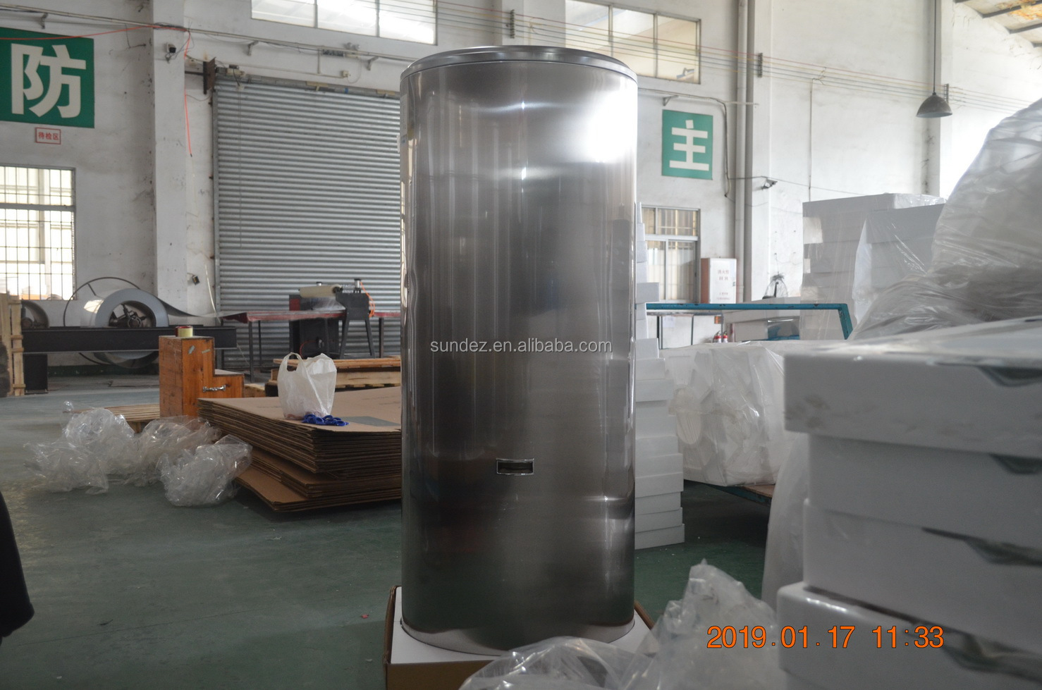 sundez WATER HEATER TANKS with 100-500 LITERS