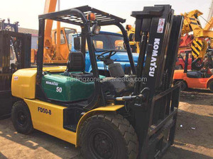 Used 5 ton Japanese Forklift for sale , Kumatsu FD50-8 forklift for sale, competitive price