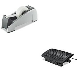 KITFEL8030901FEL8032701 - Value Kit - Fellowes Climate Control Footrest (FEL8030901) and Fellowes Office Suites Desktop Tape Dispenser (FEL8032701)