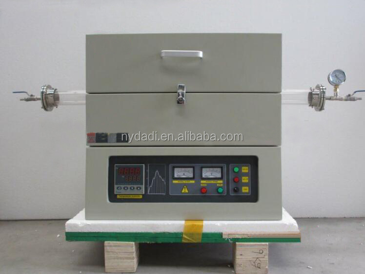 Top Quality Wholesale Price Quartz Tube Furnace for 1200 deegree Sintering Heating