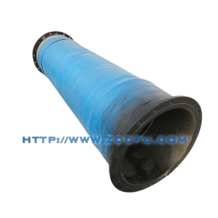 Flanged floating dredge rubber hose pipe