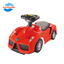 New model swing baby toy car with musical steering wheel and light