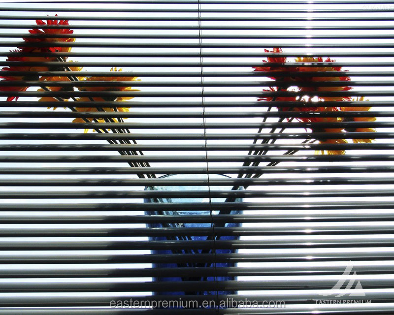 custom decorative manual pvc Fauxwood venetian window blinds shade