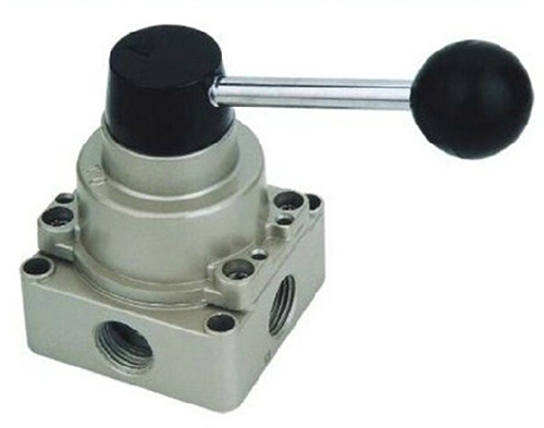 Manual directional control valve 4 way