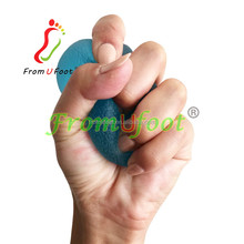 ZRWA09 Finger hand Grip Strengthening Therapy free Stress Squeeze Balls, Resistance Exercise Squeeze Eggs