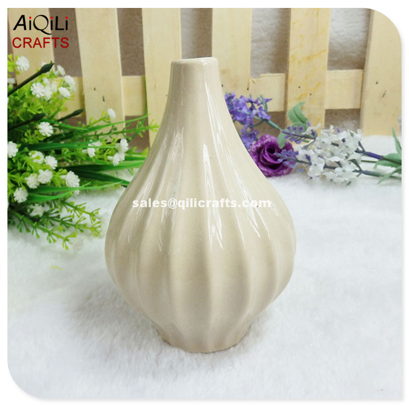 Mini Floret Bottle Ceramic Textured Vases Stoneware Vases