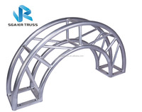 High Quality Aluminum Circle / Half Circle Roof Truss Stage Truss System