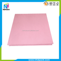 High Quality Pink Fancy Paper Top and Bottom Box For Eye Shadow