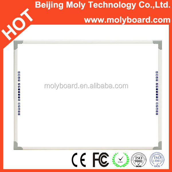 "Your wise choice 83"" MolyBoard finger touch interactive white board with the best service"