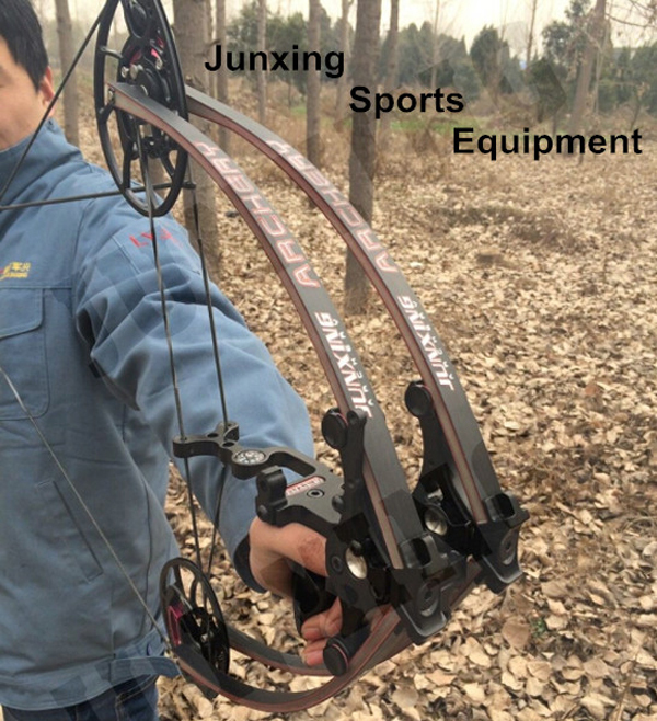 Making A Hunting Bow Liminated Limbs Compound Bow With Bcy Strings