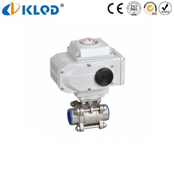 3 PCS stainless steel 2 inch motorized ball valve