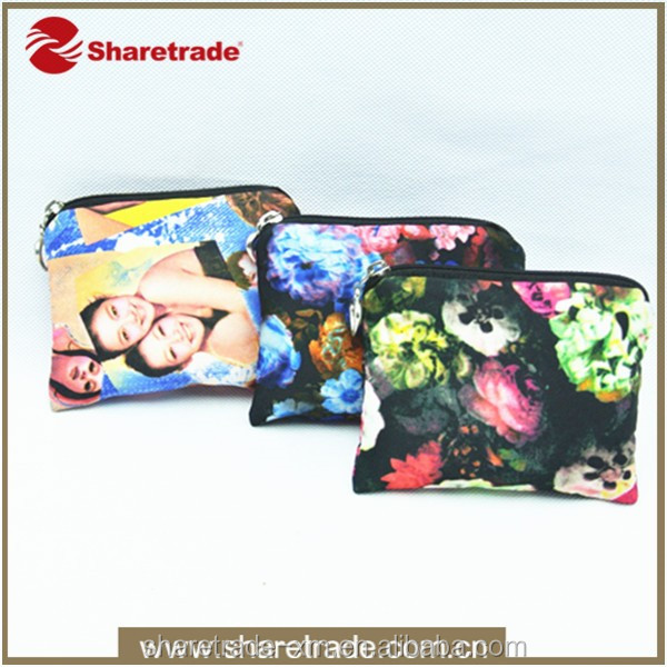 Low MOQ lady bags promotional hanging toiletry kit travel cosmetic bag