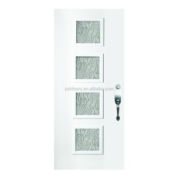 Exterior Half Lite Steel Prehung Door