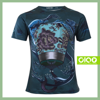 2016 Latest Free Sample 3D custom t shirt printing with high quality