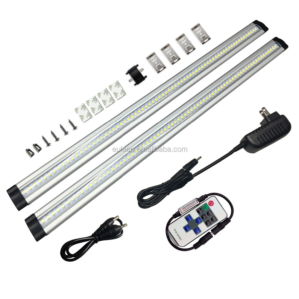 hot sale whole sale retail packing 12v 24v dimmable led closet light linkable 300mm 500mm
