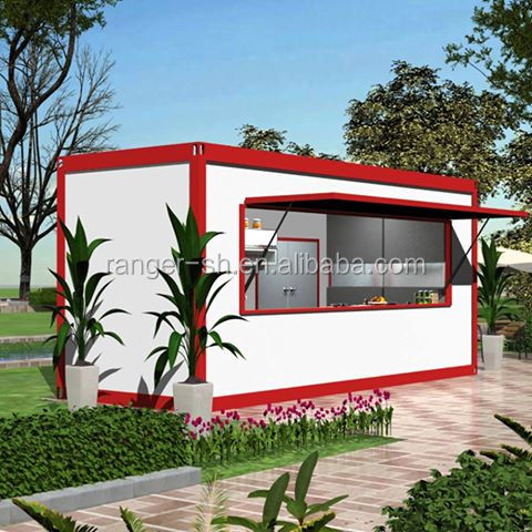 2017 new designed folding container house as shop,shop container