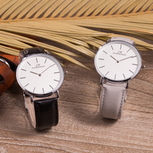The Best and Cheapest genuine leather quartz watch geneva watches stainless steel japan movt with great price