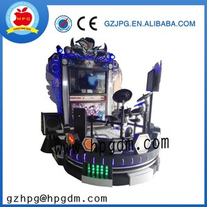 "Guangzhou HPG 42""LCD Jazz hero electronic drum simulator game machine"