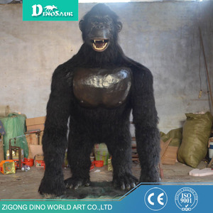 Robotic Indoor Playground Animatronic Orangutan Model