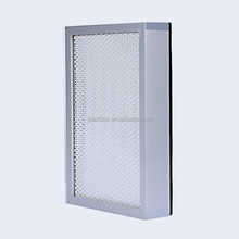 Hot Sale <span class=keywords><strong>Hepa</strong></span>/Ulpa Filter Kelas H10-U15 Mini-lipatan <span class=keywords><strong>Hepa</strong></span> Ulpa Panel Untuk Airpurifier Scrubber Industri Filter Udara Media